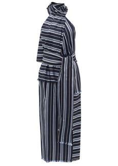 Altuzarra Columbine halterneck striped midi dress