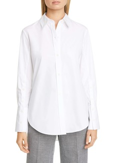 Altuzarra Cotton Poplin Button-Up Shirt