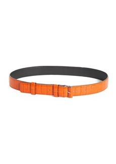 Altuzarra Croc Embossed Leather Belt