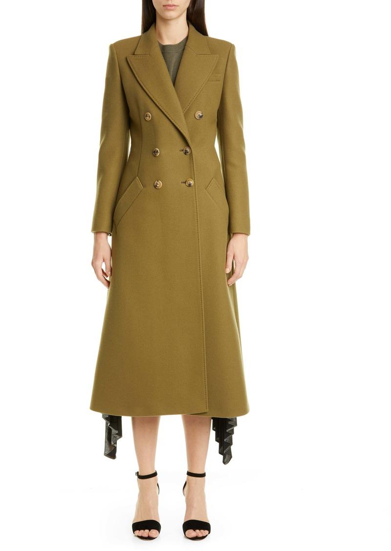 Altuzarra Double-Breasted Three-Quarter Wool Blend Coat