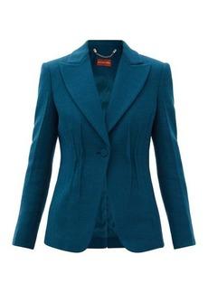 Altuzarra Eleanor peak-lapel wool jacket