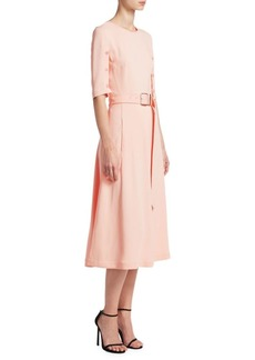 Altuzarra Elena A-Line Belted Dress