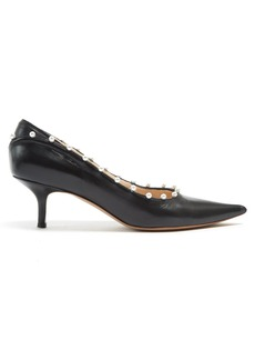 Altuzarra Elliot faux-pearl embellished leather pumps