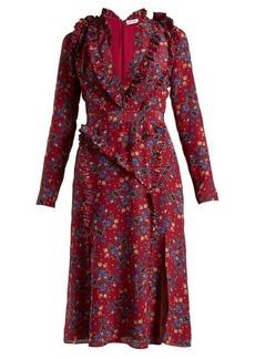 Altuzarra Eureka floral-print dress
