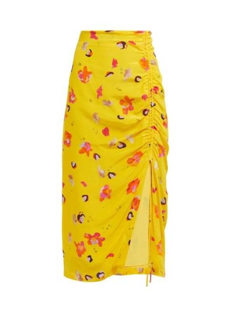 Altuzarra Fausto floral-print silk midi skirt