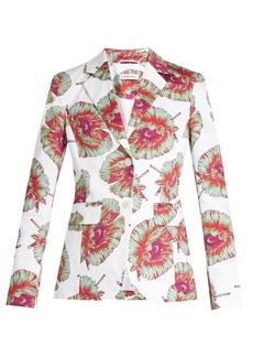 Altuzarra Fenice abstract-floral print blazer