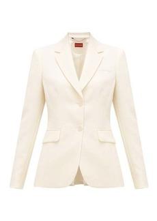 Altuzarra Fenice single-breasted wool-blend jacket