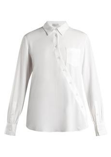 Altuzarra Garcia asymmetric-fastening blouse