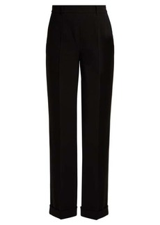 Altuzarra Gavi high-rise crepe trousers