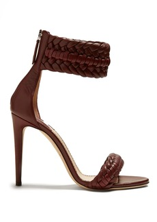 Altuzarra Ghianda braided-detailed heeled sandals