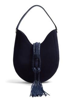 Altuzarra Ghianda small suede shoulder bag