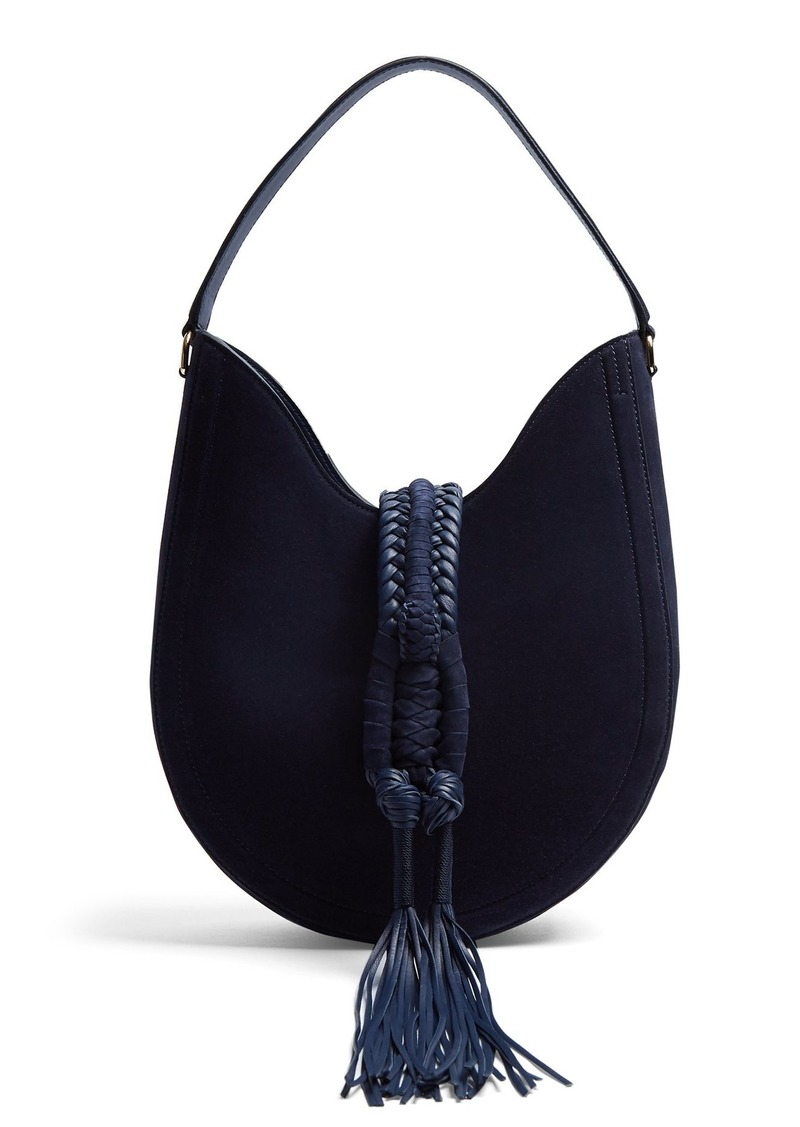 Altuzarra Ghianda small suede shoulder bag