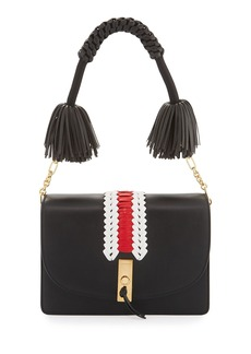 Altuzarra Ghianda Woven Leather Shoulder Bag