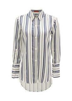 Altuzarra Giselda striped satin shirt