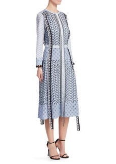 Altuzarra Grenelle Printed A-Line Dress