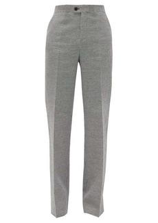 Altuzarra Higbie high-rise linen-blend wide-leg trousers
