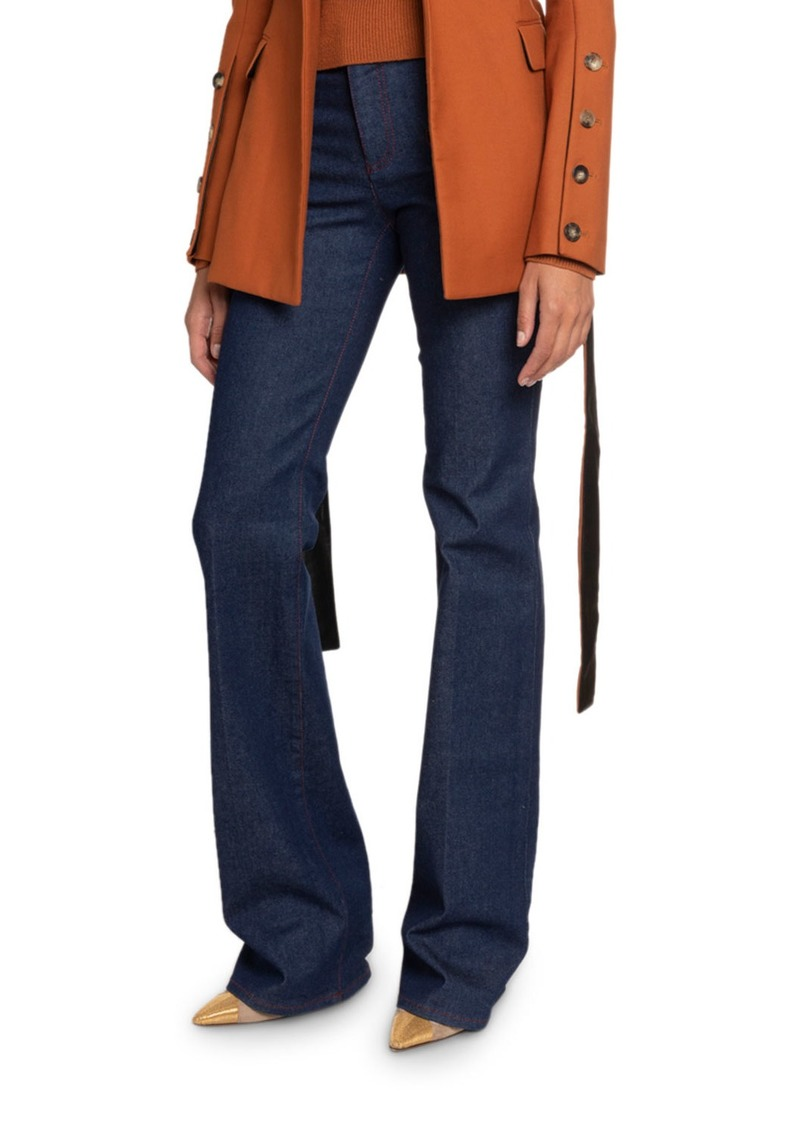 Altuzarra High-Waist Flared-Leg Jeans
