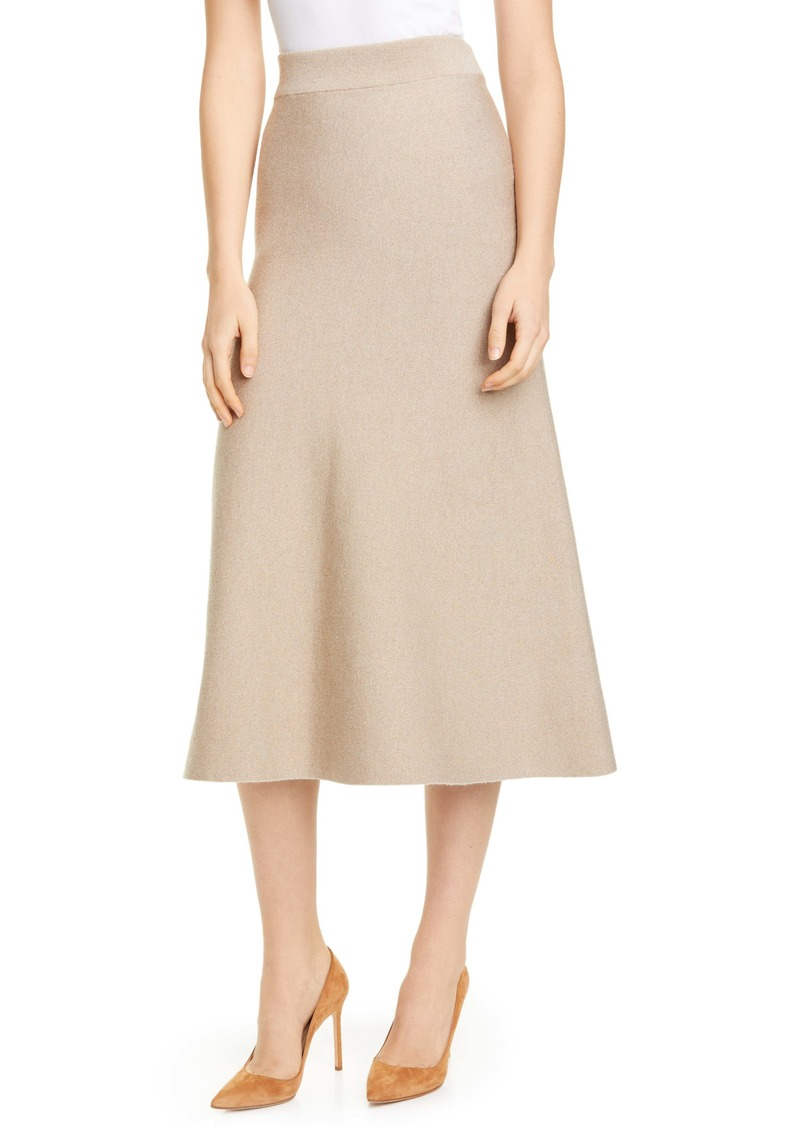 Altuzarra High Waist Knit A-Line Skirt