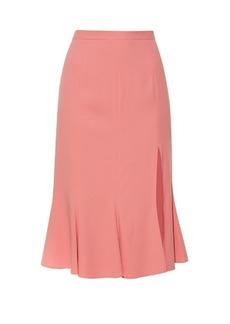 Altuzarra Holliday side-slit fluted skirt