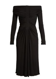 Altuzarra Imogene off-the-shoulder jersey dress