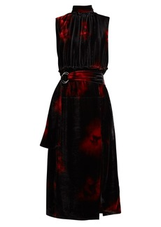 Altuzarra Indira velvet dress