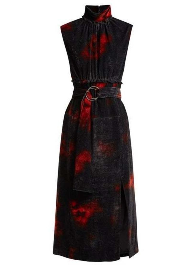 Altuzarra Indira velvet dress