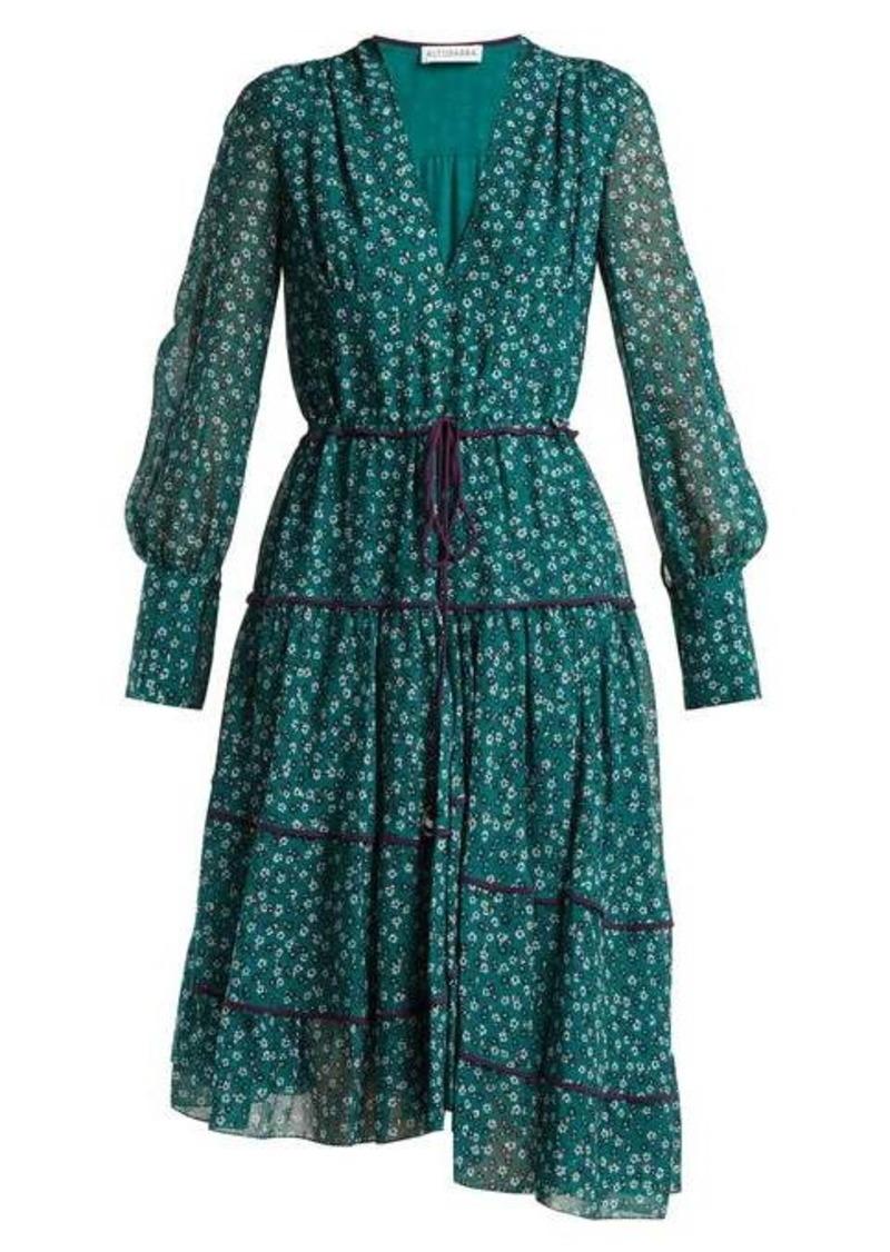 Altuzarra Isabel floral-print dress