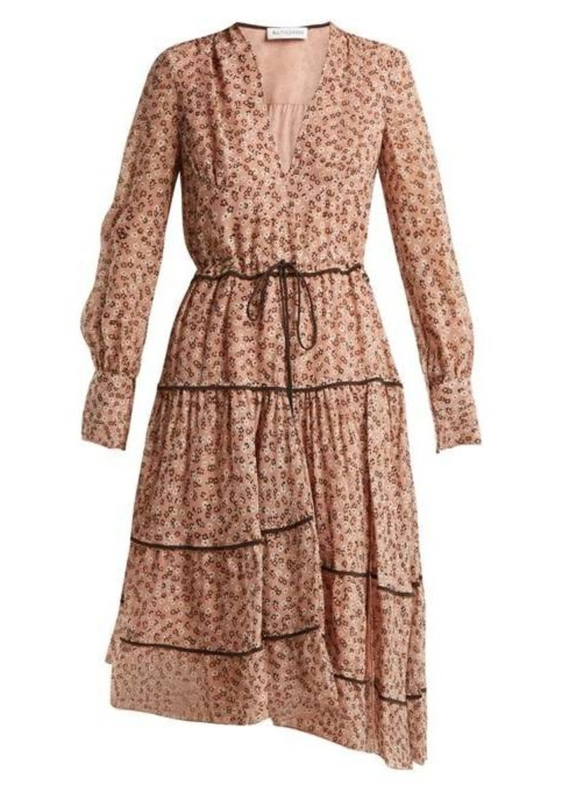 Altuzarra Isabel floral-print silk-blend midi dress