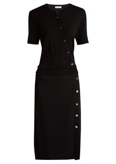 Altuzarra Jefferson asymmetric-buttoned dress