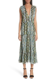 Altuzarra Jorma Print Silk Dress