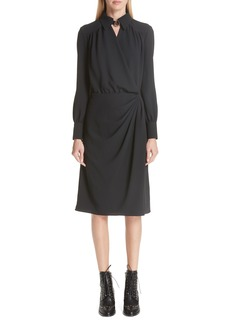 Altuzarra Kat Drape Front Dress