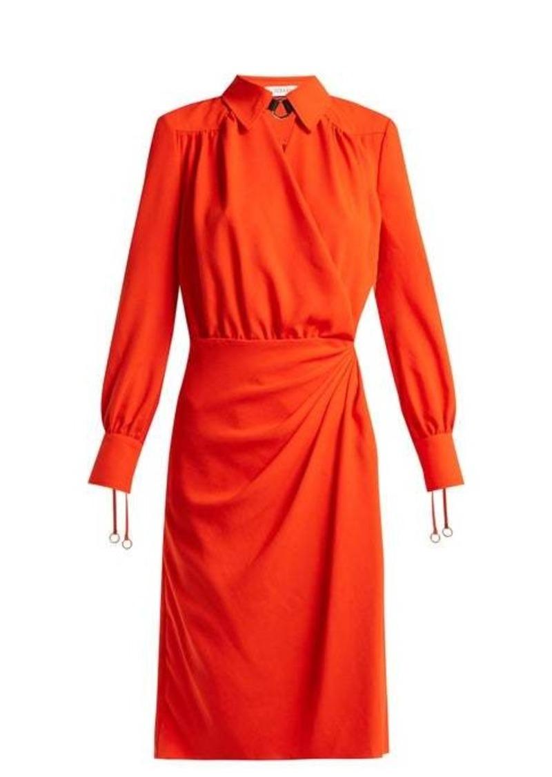 Altuzarra Kat wrap-front dress