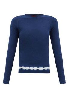 Altuzarra Kazuko Shibori-dye hem cotton sweater