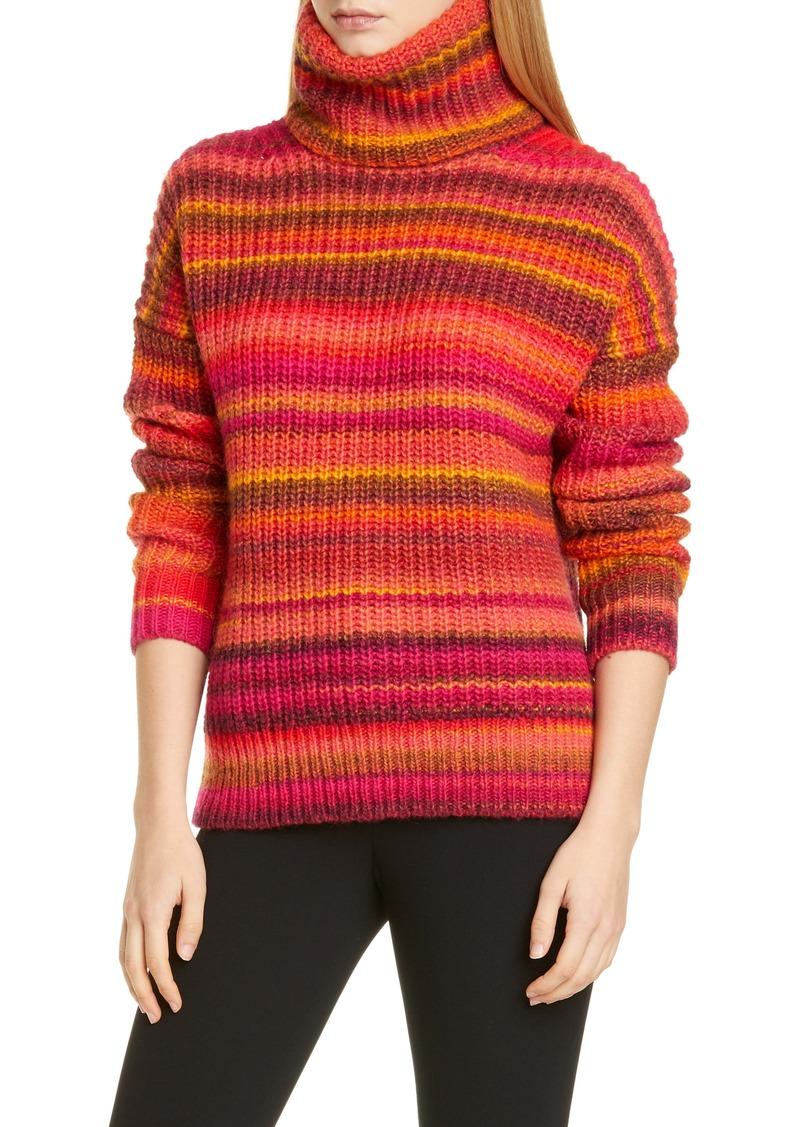 Altuzarra Kelley Stripe Wool Blend Turtleneck Sweater