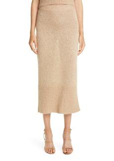 Altuzarra Kinsley Sequin Metallic Knit Skirt