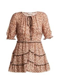 Altuzarra Kona floral-print silk-blend blouse