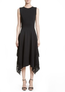 Altuzarra Lace Hem Midi Dress