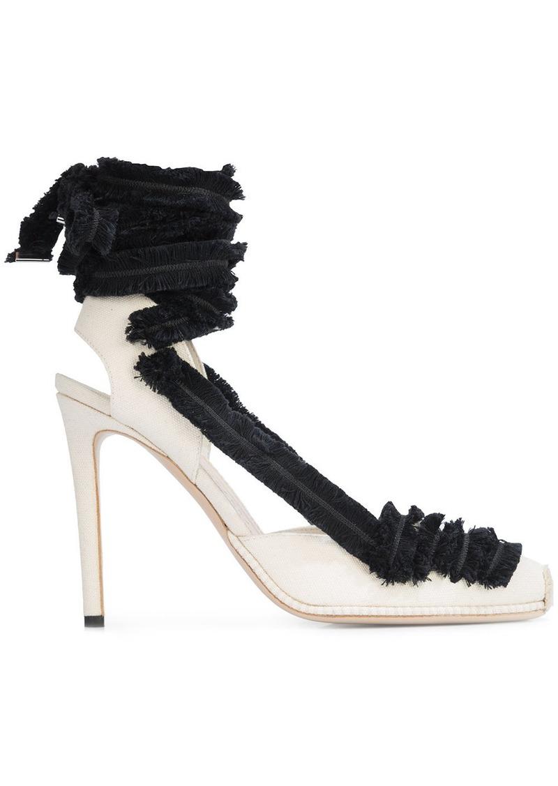 9879629d1b5 lace up heeled espadrilles