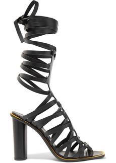 Altuzarra Pont Lace-up Leather Sandals
