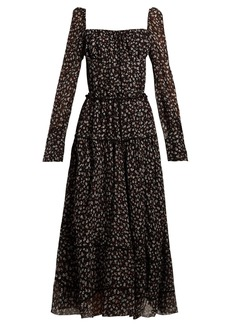 Altuzarra Lahiri floral-print silk-blend dress