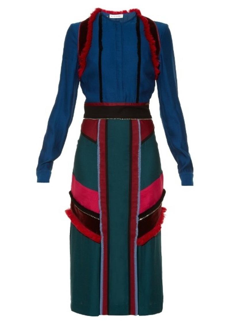 Altuzarra Letitia colour-block midi dress
