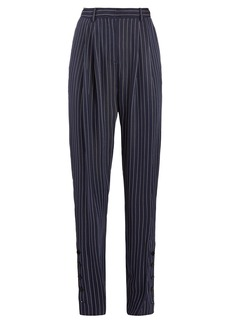 Altuzarra Lidig high-rise pinstriped twill trousers