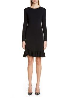 Altuzarra Long Sleeve A-Line Sweater Dress