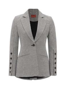 Altuzarra Longview single-breasted linen-blend jacket
