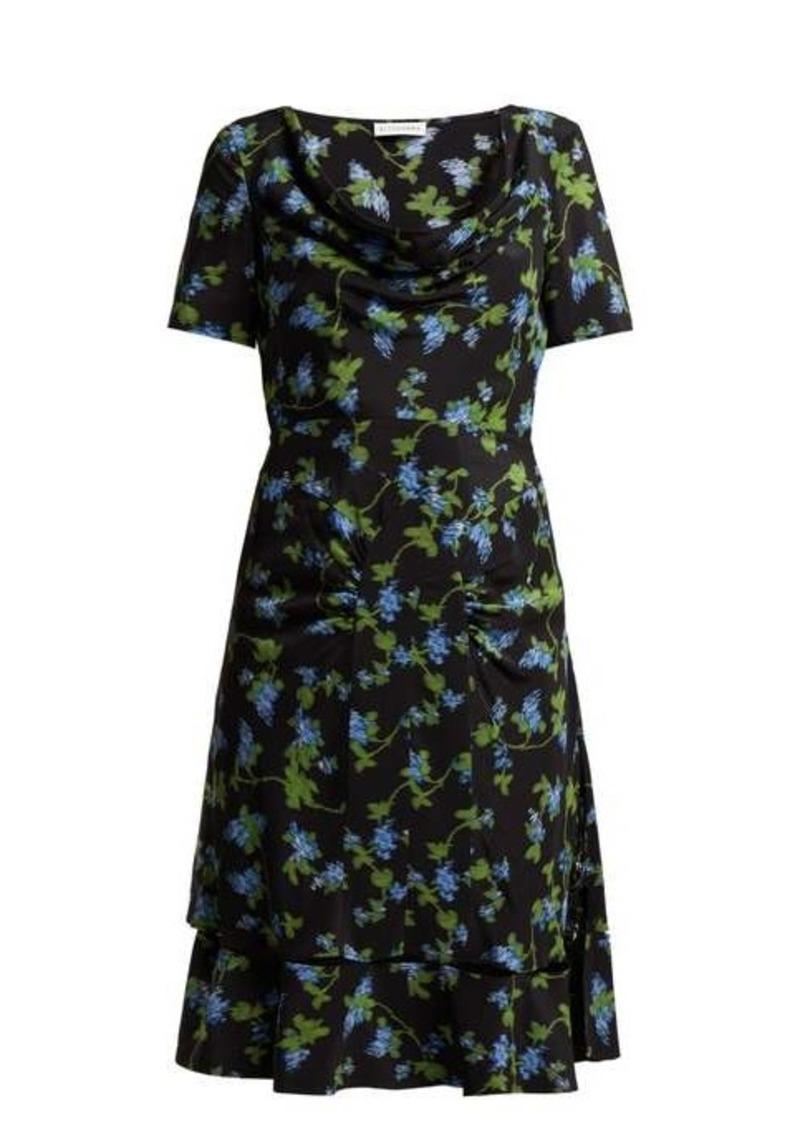 Altuzarra Lucia floral-print silk-crepe dress