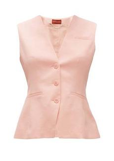 Altuzarra Marshall wool-blend single-breasted waistcoat