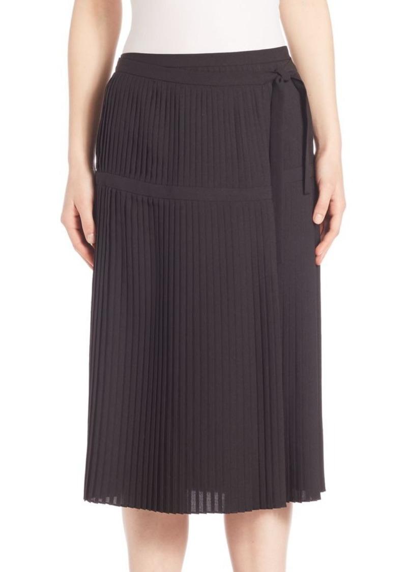 Altuzarra Mayumi Pleated Wrap Skirt