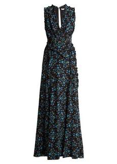 Altuzarra Medina Vine-print silk crepe de Chine dress