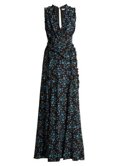 Altuzarra Medina Vine-print silk crepe de Chine dress