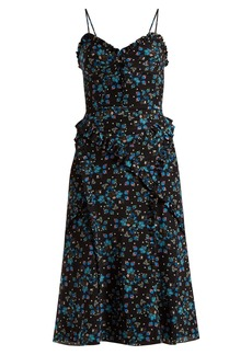 Altuzarra Menara floral-print dress